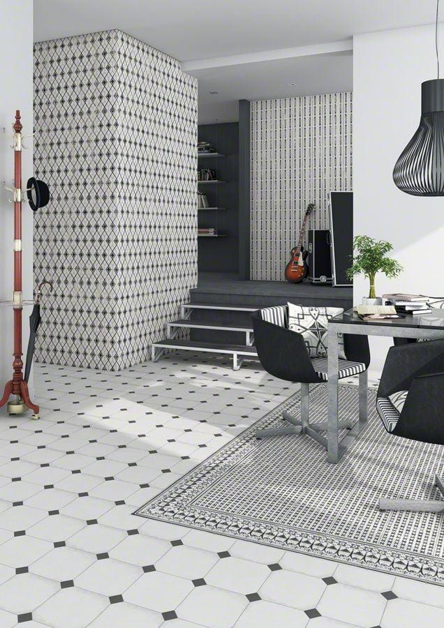 klinker oktagon white 20x20 kakel online tiles r us ab. Black Bedroom Furniture Sets. Home Design Ideas