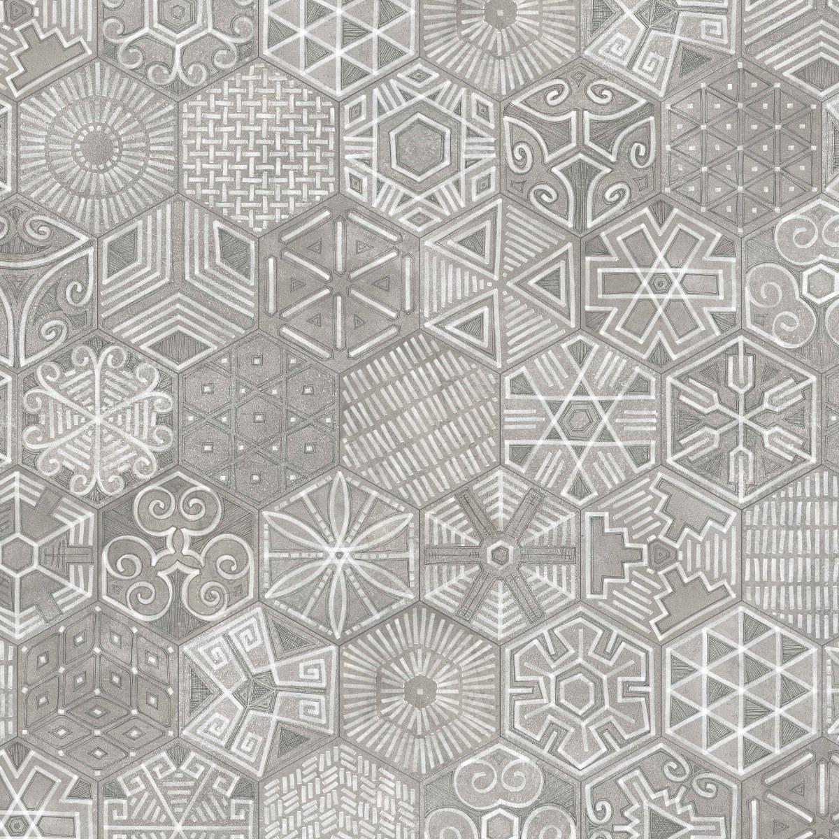 Inredning mönstrat klinker : Klinker Hexagon Igneus 23X26,6 - Kakel Online-Tiles R Us AB