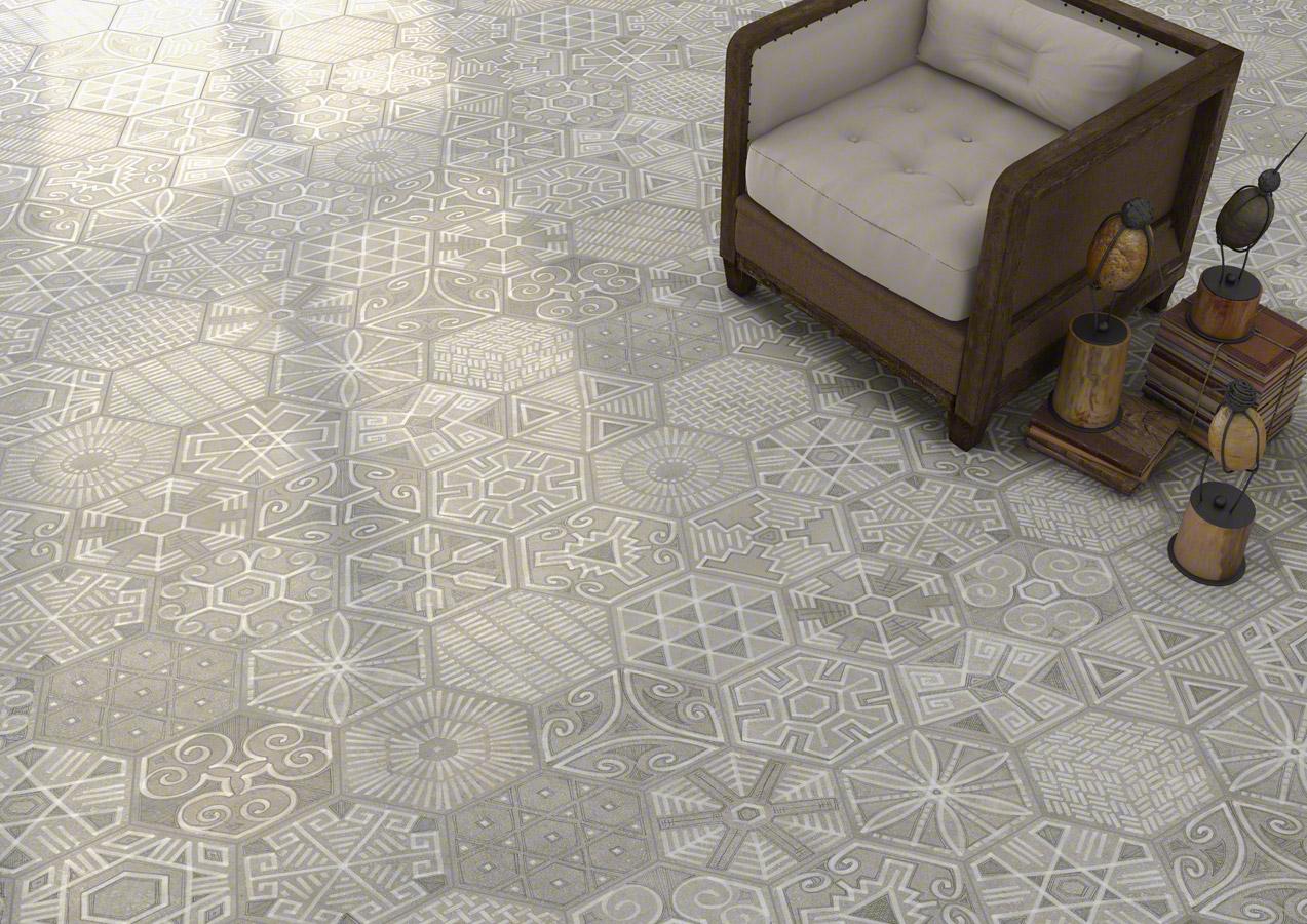 Klinker Hexagon Igneus 23X26,6 - Kakel Online-Tiles R Us AB