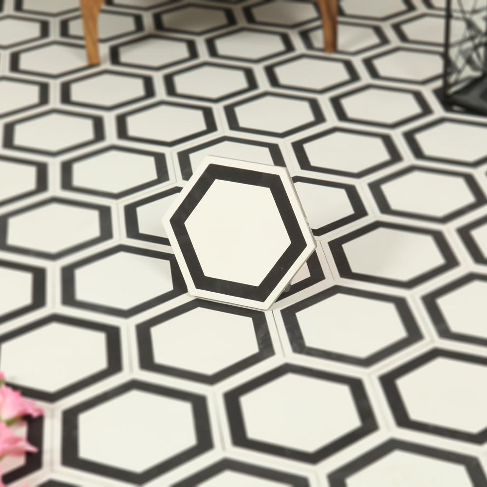 Marockanskt kakel meknés white 20x23,2   kakel online tiles r us ab