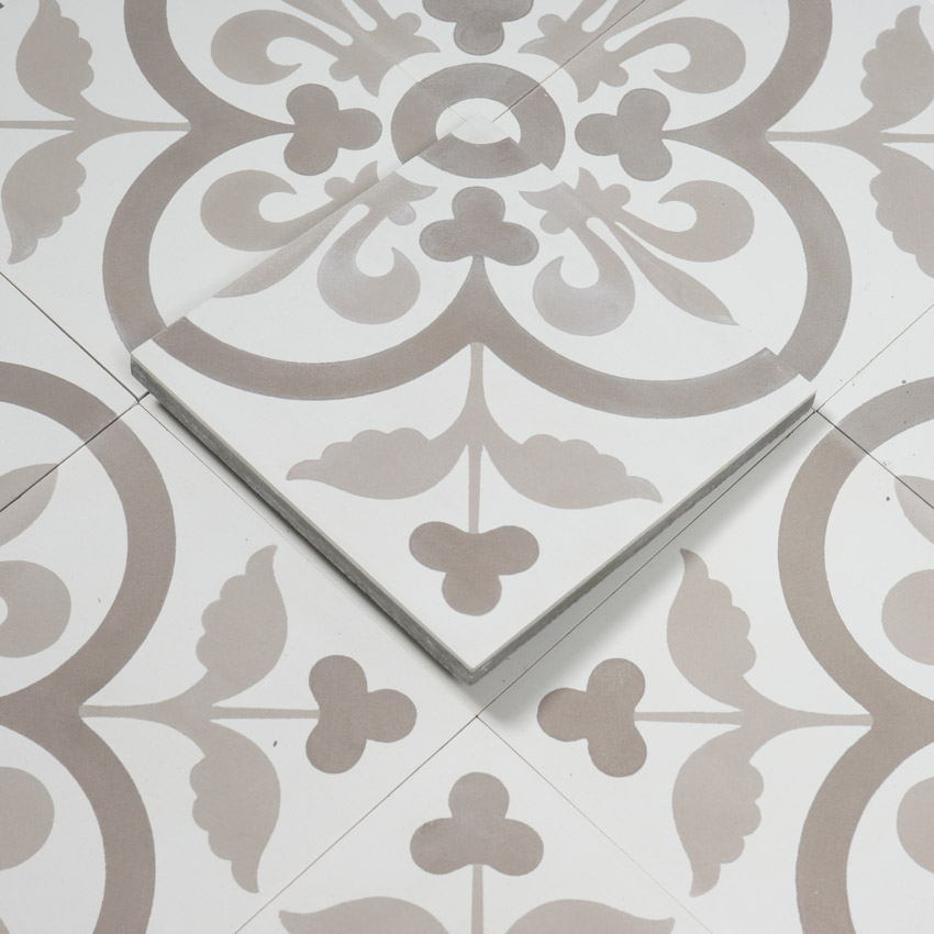 marockanskt kakel yamil white 20x20 kakel online tiles r. Black Bedroom Furniture Sets. Home Design Ideas