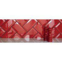 Kakel Metro Red 10X20 Paketpris 4 kvm
