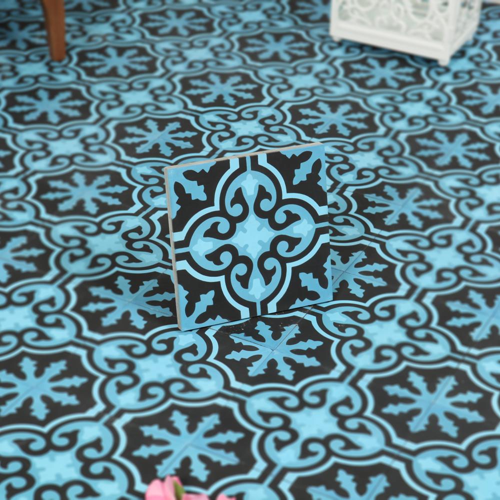 Marockanskt kakel larache 20x20   kakel online tiles r us ab