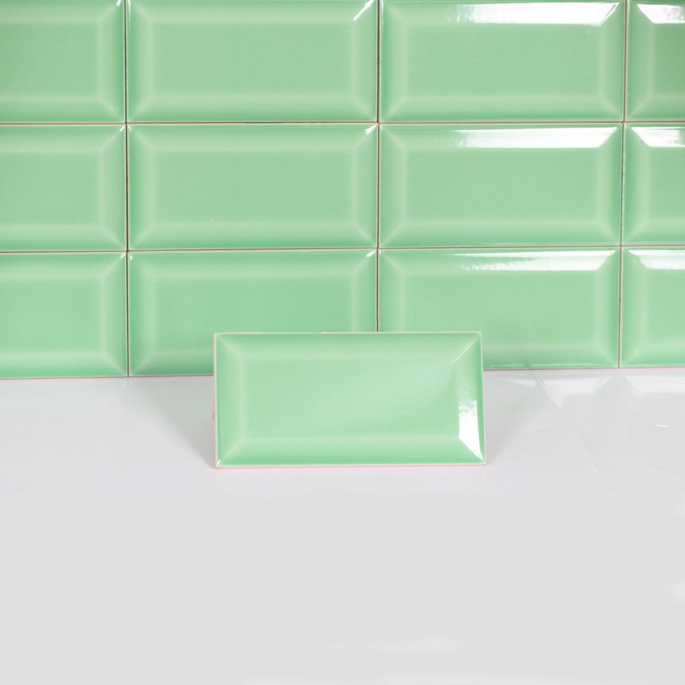 kakel metro green 7 5x15 kakel online tiles r us ab. Black Bedroom Furniture Sets. Home Design Ideas