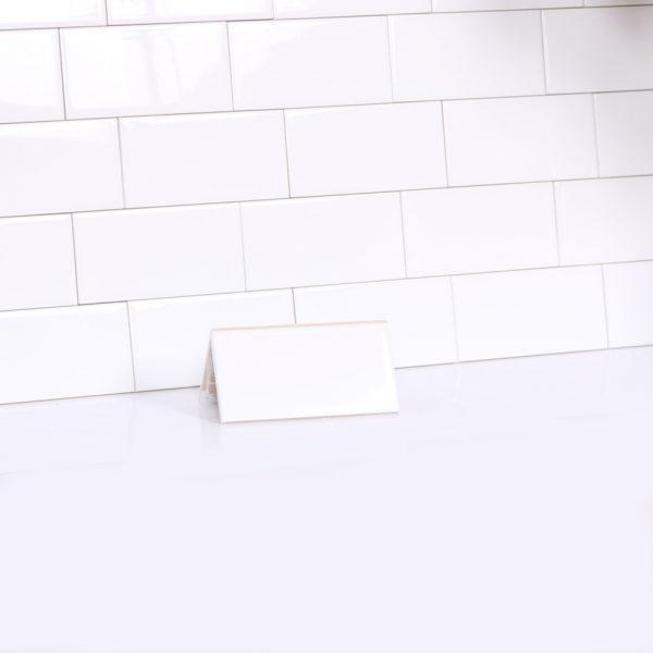 Kakel Metro Vit Blank 7,5X15