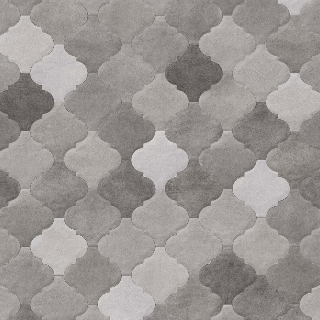 Inredning mönstrat klinker : Klinker Provenzal Cameley Sombra 20X20 - Kakel Online-Tiles R Us AB