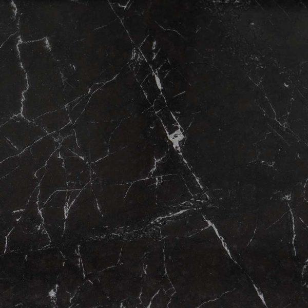 Klinker Carrara Svart Blank 60X60