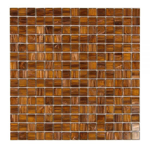 Glasmosaik Caramel 32,7X32,7