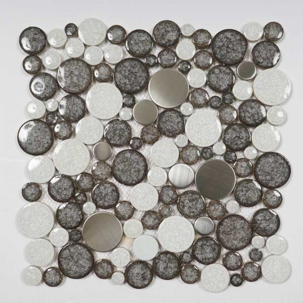Mosaik Rock Metal 31,5X31,5
