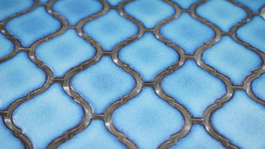 Mosaik Blue Lantern 28,3X25,1