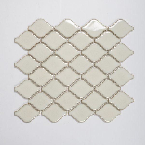 Mosaik White Lantern 28,3X25,1