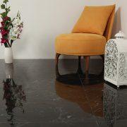 Klinker Carrara Black 60X60