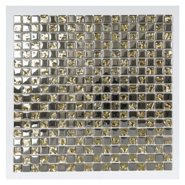Kristallmosaik Silver And Gold 30X30