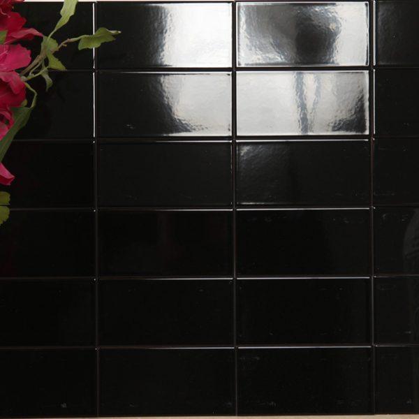 Kakel Plan Black 10X20