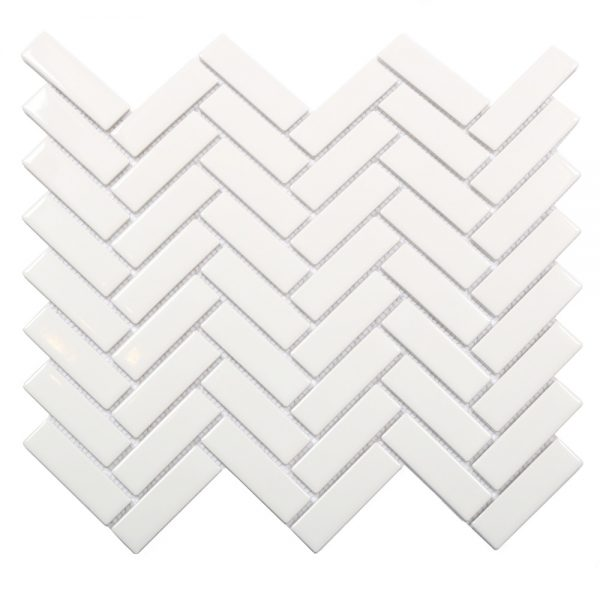 Mosaik White Bricks 31,6X27,7