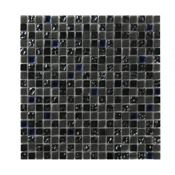Kristallmosaik Grey and Blue Mix 30,5X30,5