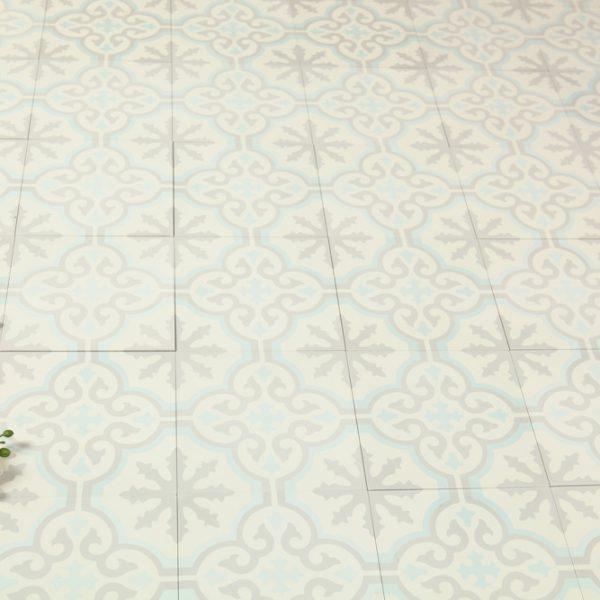 Marockanskt Kakel Turkoso Light 20X20