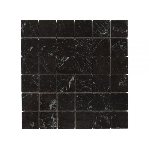 Mosaik Carrara Black 30X30
