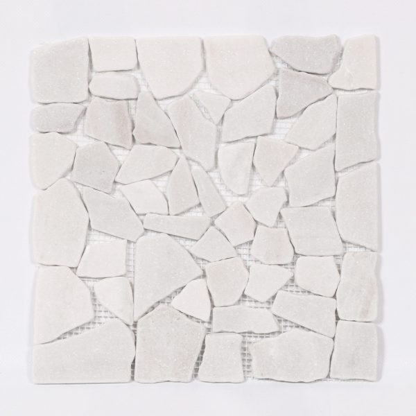 Natursten White Mosaik 30,5X30,5