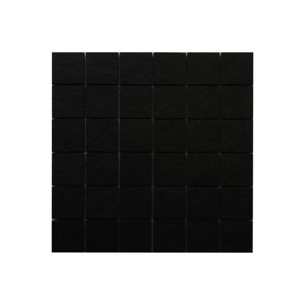 Klinker Slate Svart Mosaik Matt 4,7X4,7