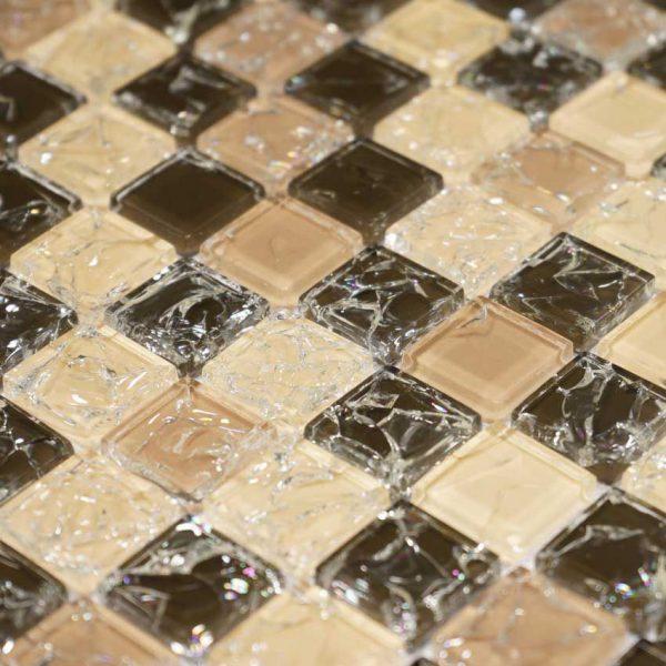 Kristallmosaik Vivida Bronze 30X30