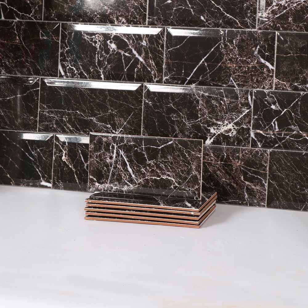 kakel metro calacata svart 10x20 kakel online tiles r us ab. Black Bedroom Furniture Sets. Home Design Ideas