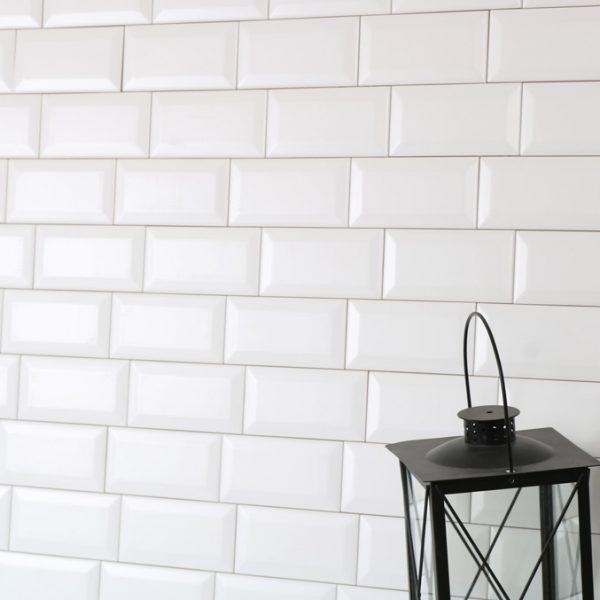 Kakel Metro White Matt 7,5X15