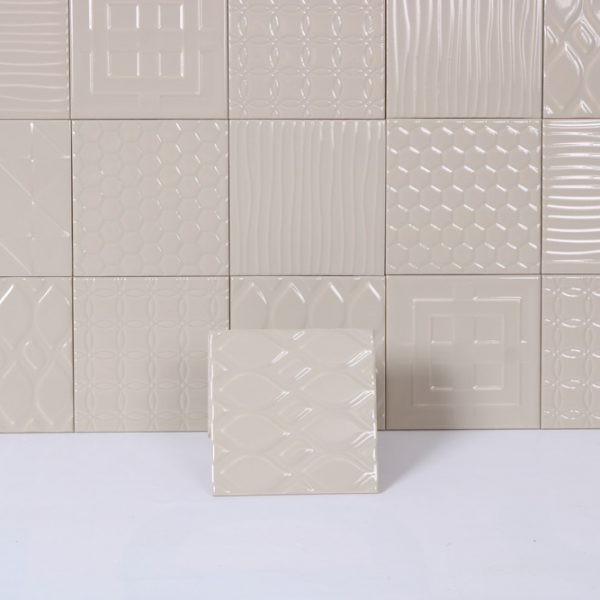 Kakel Grey Patchwork 15X15