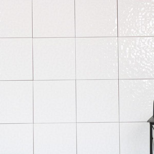 Kakel Glaze White 20X20