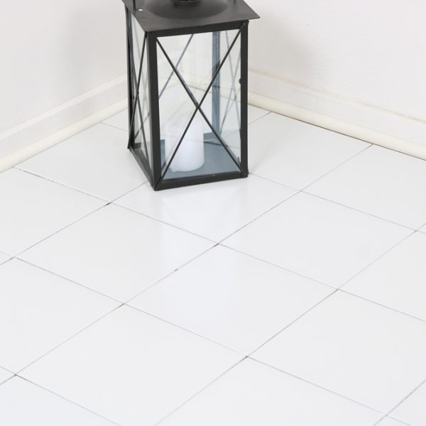 Klinker Satin White 20X20