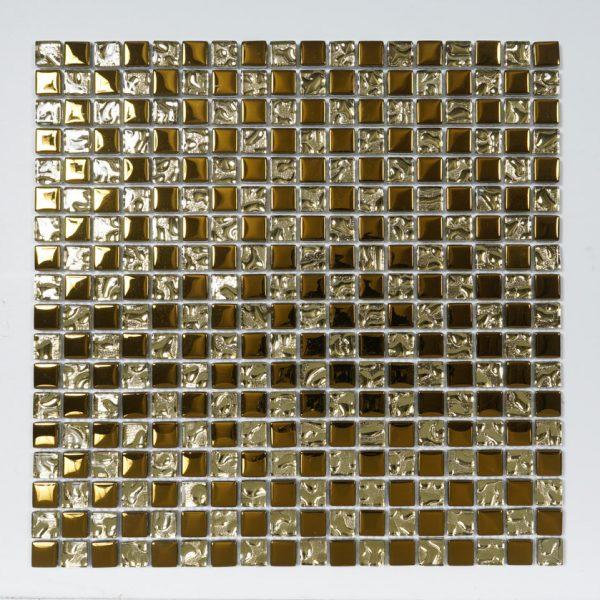 Kristallmosaik Gold 30X30