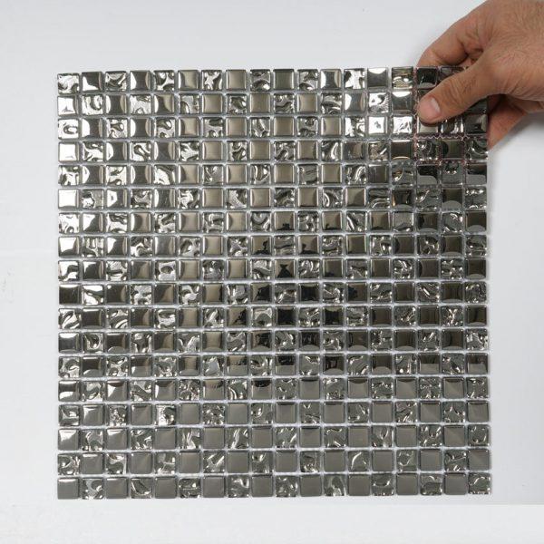 Kristallmosaik Silver 30X30