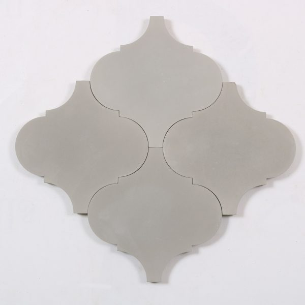 Marockanskt Kakel Grey Lantern 20X20