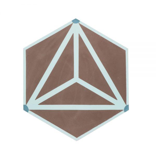 Marockanskt Kakel Hexagon Matarka 20X23,2