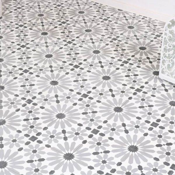 Marockanskt Kakel Tiflet Slim 20X20