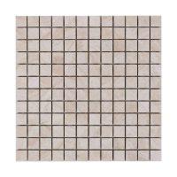Mosaik Carrara Beige Blank 2,4X2,4