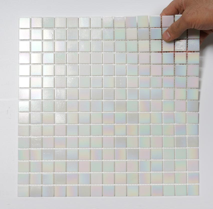Glasmosaik Rainbow 32,7X32,7 - Kakel Online-Tiles R Us AB
