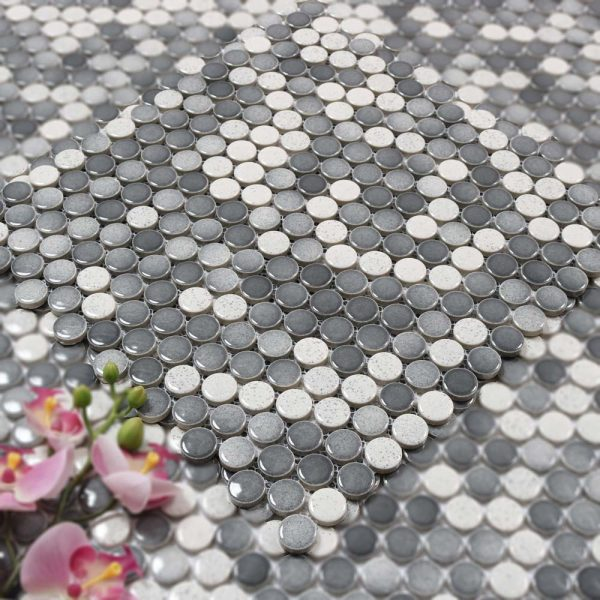 Mosaik Round Mix 31X31,5