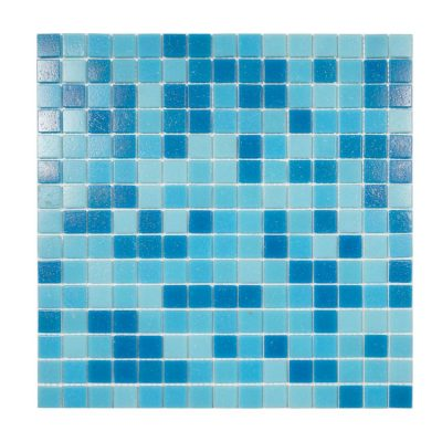Mosaik Pool Blue Mix 32,7X32,7