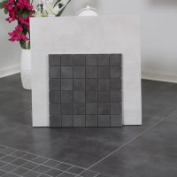 Mosaik Concrete Dark Lappato 30X30