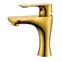 Daabi Tvättställsblandare Guld Modern