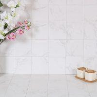 Klinker New Bianco Carrara Blank 15X15