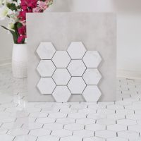 Mosaik Hexagon New Bianco Carrara 30,8X32,8