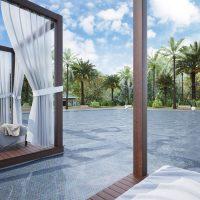 Glasmosaik Marbella Mix 31,7X30,7