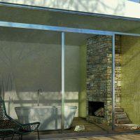 Glasmosaik Mijas Pistachio 31,5X31,5