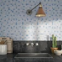 Glasmosaik Mora Blue 31,5X31,5