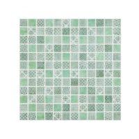 Glasmosaik Mora Green 31,5X31,5