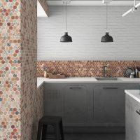Glasmosaik Osuna Terrakotta 31,7X30,7