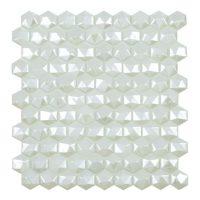 Glasmosaik Sevilla White 31,7X30,7