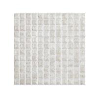 Glasmosaik Tudela White 31,5X31,5